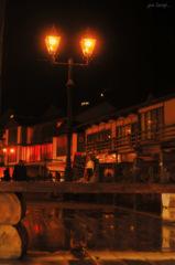 gas lamp...