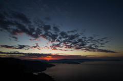 槙山夕景 その2