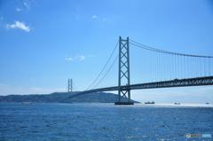 blue ocean and the bridge