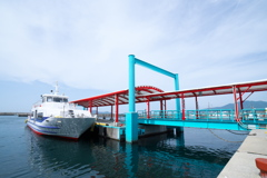 神湊のターミナル