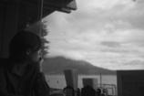 桜島を望む