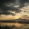 有明海の夕日