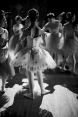 She is a cute ballerina