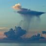 波照間島・雨雲