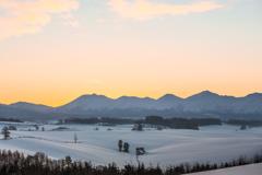 零下13℃の朝