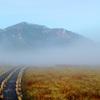 至仏山に続く道