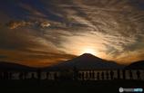 富士山を撮る人達