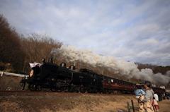真岡鐵道SL新年号