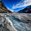 氷原のうえを散歩