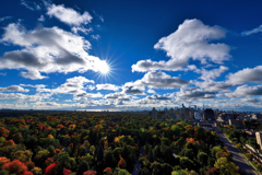 Autumn Sky of Toronto