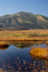 至仏山と尾瀬ヶ原の池塘