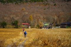 尾瀬ヶ原 見晴の小屋まであと少し
