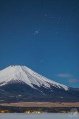 Winter Mount Fuji