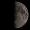 月齢8.4 八日月