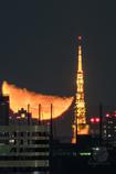 月と東京タワー1