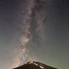 Fuji and the Milky Way