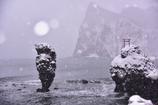 雪の恵比寿岩、大黒岩