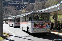 関電トンネルトロリーバス ①