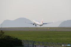 松山空港 ⑧ JAL JA340J 737