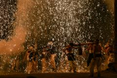 手力の火祭り・夏 その1