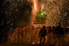 手力の火祭り・夏 その2