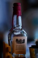 空瓶のオブジェ