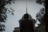 關一翁像 中央公会堂