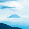 美し森展望台からの富士