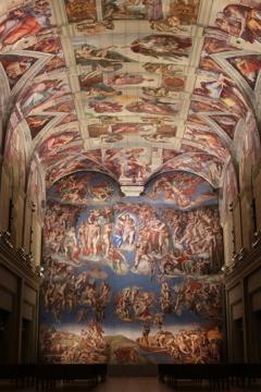システィーナ礼拝堂天井画