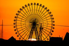 「オレンジ車輪」