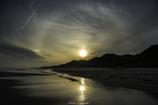 「日暈の見える渚」