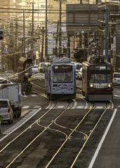 「市電の走る街」