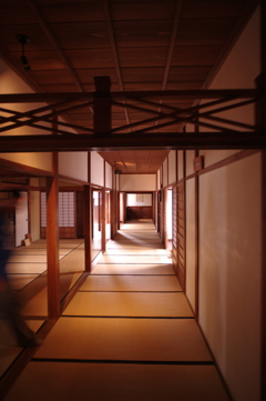 高山陣屋の廊下