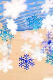 部屋に降る雪