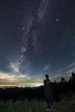 久々に見た星空