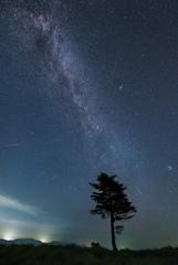 ペルセウス座流星群の夜*2
