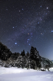 Winter starry sky of February*2