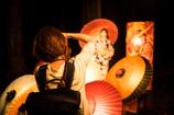 大山夏祭り お盆の大献灯 和傘灯り*6