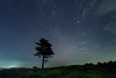 ペルセウス座流星群の夜*3