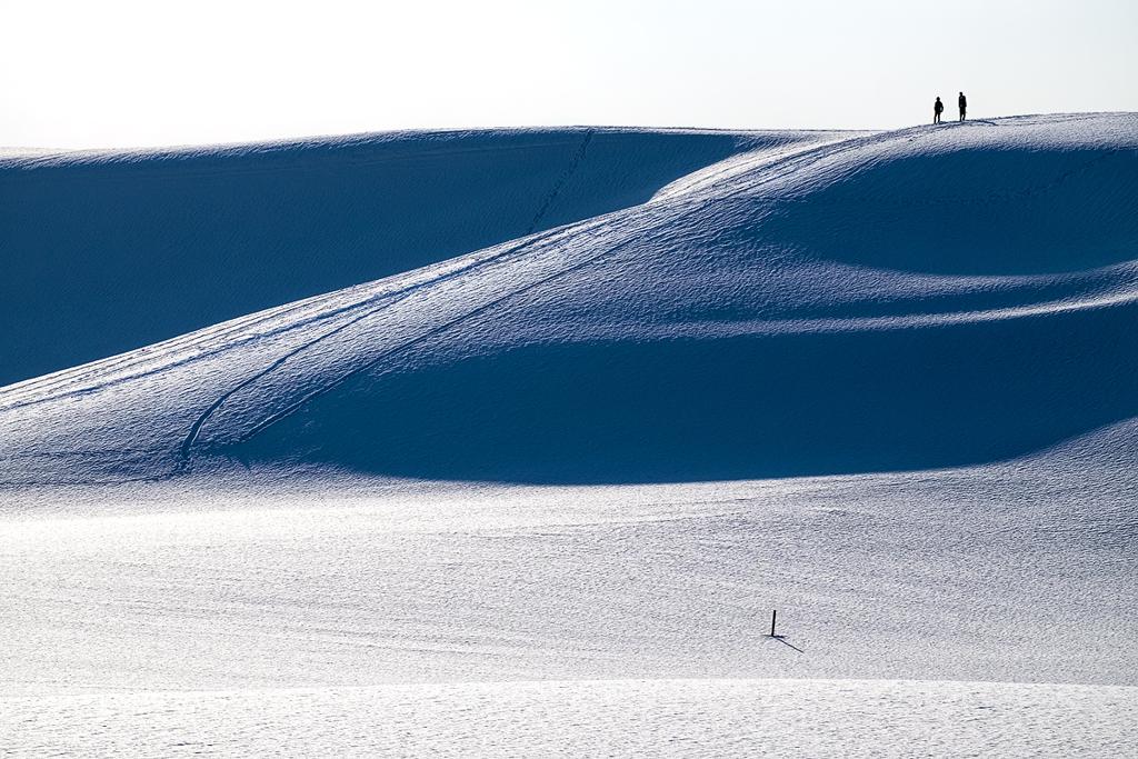 雪の鳥取砂丘*1