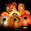 大山夏祭り お盆の大献灯 和傘灯り*5