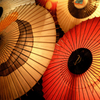 大山夏祭り お盆の大献灯 和傘灯り*8