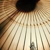 大山夏祭り お盆の大献灯 和傘灯り*9