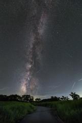 ペルセウス座流星群の夜*1