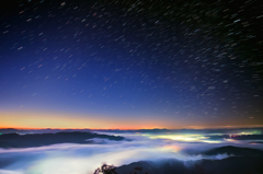 Star on the sea of clouds -composite3-