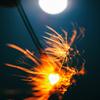 ブルームーンの夜 -線香花火-