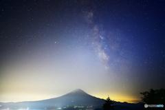 星空撮影の願いも。。