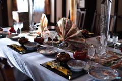 煌びやかな食卓