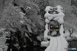 只見線 落雪