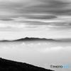 雲間に浮かぶ阿蘇